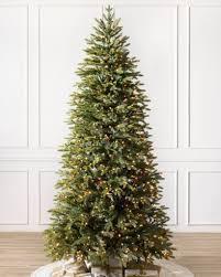 slim christmas tree with led colored lights silverado slim christmas trees online balsam hill