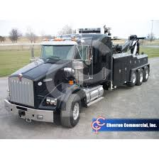kenworth heavy duty trucks t800 sleeper w vulcanator v100 heavy duty wrecker