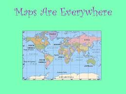 what is a map lets a map geography ppt