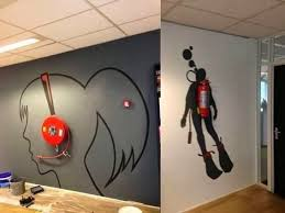 Wall Ideas For Office Best Office Wall Interior Design Ideas For Home Design