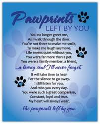 grieving the loss of a dog pet loss gifts typed poem personalized pet memorial loss of