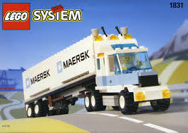 minecraft semi truck town tagged u0027articulated lorry u0027 brickset lego set guide and