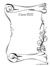 i love you coloring pages hellokids com
