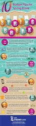 10 budget tips for spring break infographic