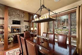 aspen dining room set dining room aspen highlands thunderbowl townhome luxury