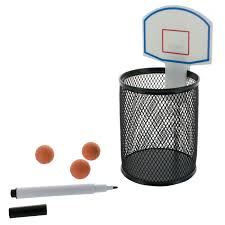 mini panier de basket de bureau kit basketball de bureau cadeau insolite