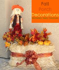 Fall Decorated Porches - front porch decorated for halloween decorating porches idolza