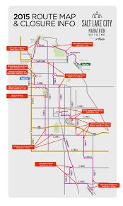 Salt Lake City Map Salt Lake City Marathon To Close Roads Saturday Ksl Com
