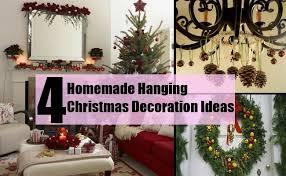christmas home made decorations 4 homemade hanging christmas decoration ideas bash corner