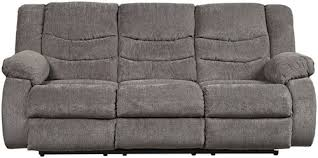 signature design by ashley tulen contemporary reclining sofa
