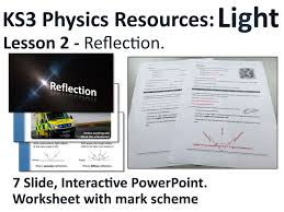 ks3 physics lesson resources light reflection lesson 2 by