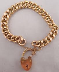 rose link bracelet images 9ct rose gold 7 5 inch hollow chain link bracelet weighs 21 5 jpg