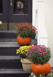 Fall Decorating Projects - 17 apart how to fall pumpkin planters