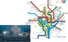Metro Map Washington Dc Slide 1