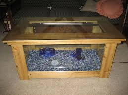 Woodworking Plans Display Coffee Table by Best 25 Fish Tank Coffee Table Ideas On Pinterest Amazing Fish