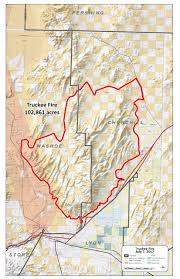 California Zephyr Route Map by Truckee Nixon Area Nv Yubanet Fire News
