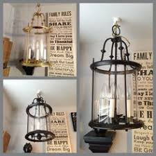 Spray Painting Brass Light Fixtures Want To Spruce Up Outdated Light Fixtures Try Removing The Glass