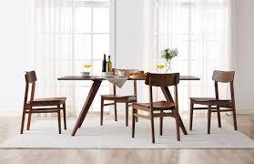 zenith modern exotic bamboo dining room set modern kitchen