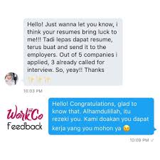 Sample Resume Yang Terbaik by Work U0026co Resumemurah Worknco Twitter