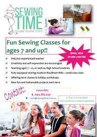 sewing classes u0026 lessons for kids in the sydney region