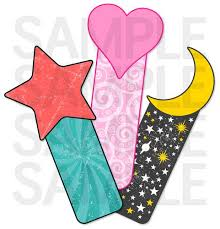 free templates for children s bookmarks stars hearts and moon bookmarks for kids gotta have freebies n