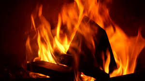 burning fire in a home fireplace stock video footage videoblocks