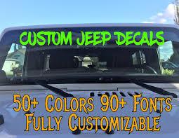 jeep stickers for girls custom jeep wrangler decals body decals car truck window