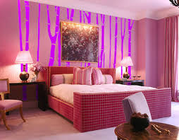 interior design original child style pink girls room bed s4x3 rend