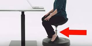 Office Chair Workout Sittight Chair Gives You A Workout As You Balance While Sat Down