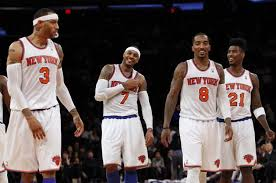 Carmelo Anthony Bench Press Anthony Laughs Off Karl Comments As Knicks Beat Magic Ny Daily News