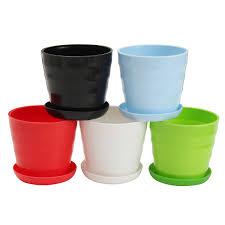 mini plastic flower pots flowers ideas