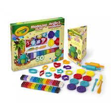 crayola modeling clay deluxe kit 4 50 count walmart com