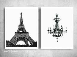 White Walls Clean by Chic Wall Decor Black White Poster Print Simple Clean Art French