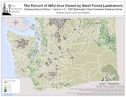 Map Of Seattle Washington Area by The Rural Technology Initiative