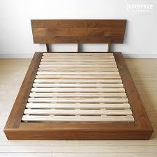 Walnut Bed Frames Joystyle Interior Rakuten Global Market Bed Frame Drainboard