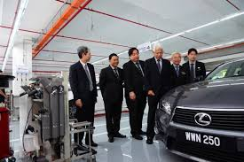 lexus service centre lexus malaysia opens sungai besi 3s centre with the lexus lfa on