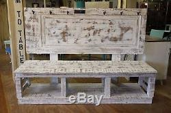 Reclaimed Barn Wood Furniture Shabby Chic Entryway Bench Reclaimed Barn Wood Furniture Coat Shoe