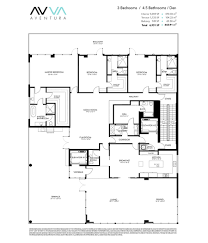 St Regis Residences Floor Plan Avva Residences Aventura New Condos For Sale Bogatov Realty