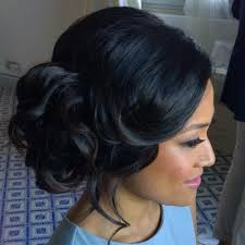 Half Up Half Down Hairstyles Black Hair Best 25 Black Wedding Hairstyles Ideas On Pinterest Black