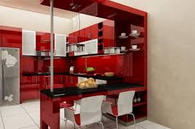 small modern kitchen designs bar amazing clean lines modern kitchen decorating ideas using