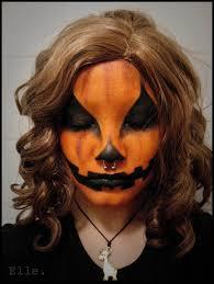 pumpkin jackolantern halloween piercing facepaint misc face