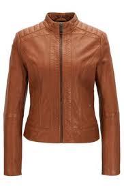 light brown leather jacket womens hugo boss leather jackets for women high quality leather