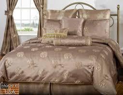 Comforter Sets Made In Usa Usab2c Victor Mills Brio Bronze Comforter Set Made In Usa