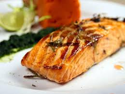 sos cuisine grilled salmon with honey a soscuisine recipe