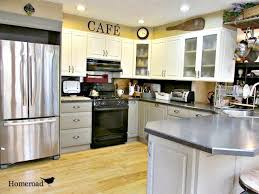 how to seal painted kitchen cabinets homeroad chalk painted kitchen cabinets vintage kitchen
