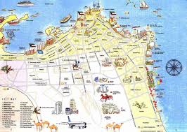 Map Of Jersey City Large Kuwait City Maps For Free Download And Print High