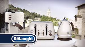 Delonghi Kettle And Toaster Sets De U0027longhi Vintage Icona Toaster Range Ctov4003 Youtube