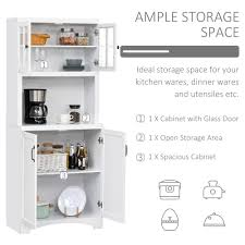 kitchen storage cabinets with doors freestanding kitchen storage cupboard with framed glass