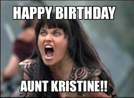 Happy Birthday Meme Creator - meme creator happy birthday aunt kristine