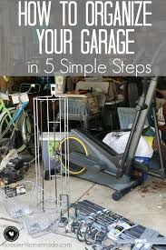 How To Organize Garage - how to organize your garage in 5 simple steps hoosier homemade
